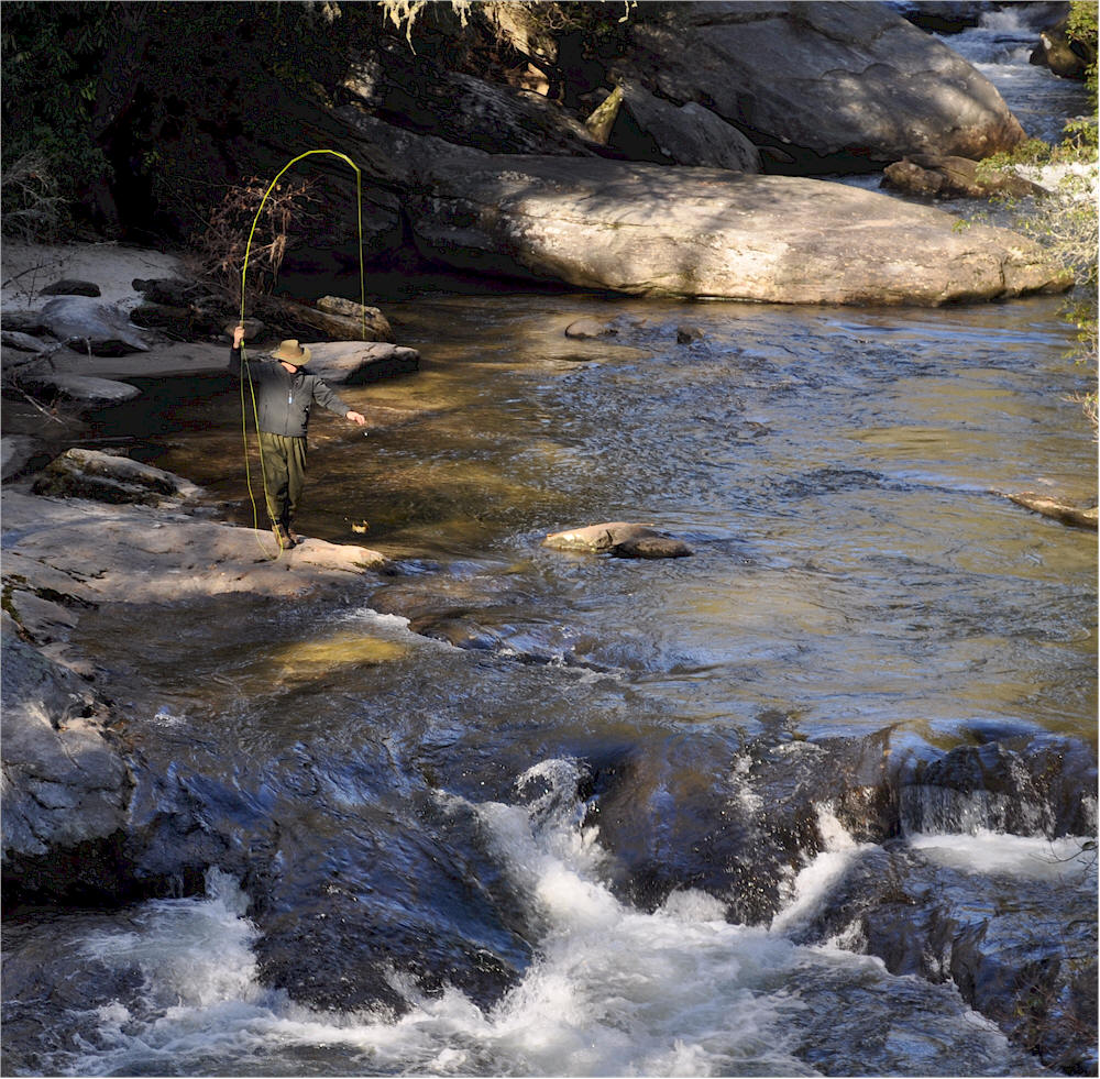 Trout fly fishing highlands nc for Fishing in nc